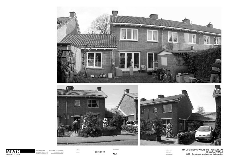 extension of house Kerkstraat | Wassenaar